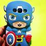 Case Spider Iron Man Capitán S3 S4 Mini Iphone Se 4s 5c   DEIVID_MURILLO