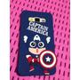 Estuche Case 3d Capitán América J7 J5 A5 A7 E5 E7 Prime | DEIVID_MURILLO