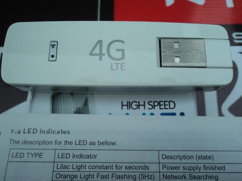 Modem Usb 4g Lte Router Wifi Claro Movistar Cnt Internet en venta en