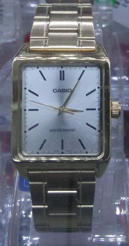 3cc7e0efa9d3 Reloj Casio Dorado Mtp V007 Hombre Original... No Copias!!!! en ...