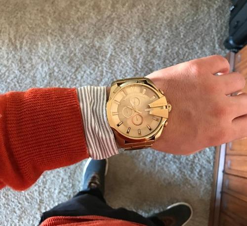 ba2fb519a588 Reloj Diesel Dorado Dz4360 Original Para Hombre en venta en ...