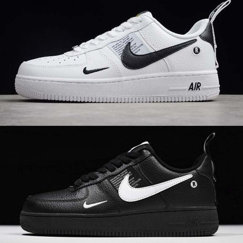 nike air force 1 blanco con negro