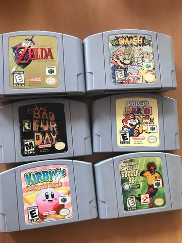 Juegos Nintendo 64 Mario Zelda Soccer Kirby Conker En Venta En Por