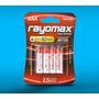 Pila Rayomax Paquete De 4 Aa O Aaa Alcalinas Termo Selladas | DAMIANB78