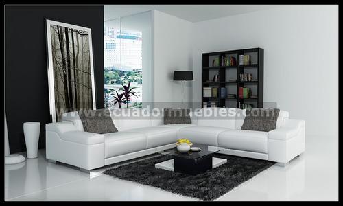 Juegos de sala modernos muebles elegantes calidad premium for Juego de muebles para sala modernos
