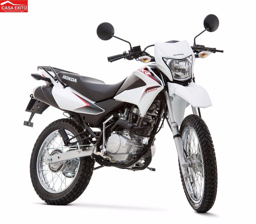 Moto Honda Xr150l Año 2015 Color Blanco, Negro, Rojo - Año ...
